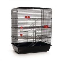 Beeztees Remy Cage pour Rat Noir - Habitats et Accessoires pour petits animaux