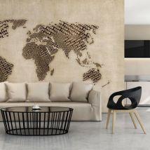 Papier peint - Age of discovery - Décoration, image, art | Carte du monde | - Décoration des murs