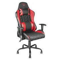 Trust Resto GXT 707R Chaise bureau gamer - Noir/Rouge - Sièges et fauteuils de bureau