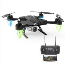 F69 une clé retour formation grand Angle WIFI cadeau quadrirotor Mini Drone FPV pliable pliable HD avec caméra haute Mode Portable - Mini-Drones