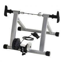 Home trainer pour velo argent noir equipement/support entrainement vélo - Equipements et accessoires de cyclisme