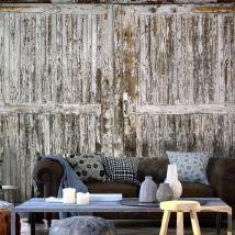 Papier peint - The whispering door - Décoration, image, art | Fonds et Dessins | Bois | - Décoration des murs