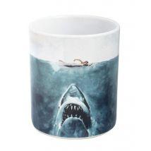 Joy Toy Jaws-Der Weisse Hai Tasse en céramique Multicolore 9 cm - Accessoires de nettoyage
