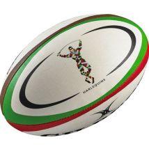 Ballon de rugby midi Gilbert Harlequins (taille 2) - Ballons