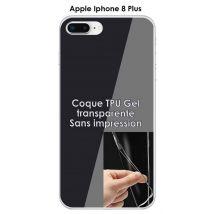 Onozo - Coque Apple Iphone 8 PLUS Transparente (TPU Gel souple) - Etui pour téléphone mobile