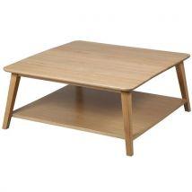 Shona - table basse carrée 90cm - Tables basses