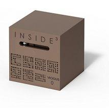 Jeu de société Inside3 Cube Labyrinthe Vicious 0 Marron - Casse-tête