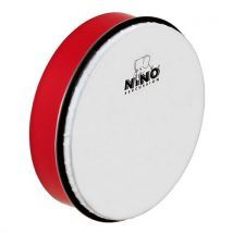 """Hand drum 8"""""""" rouge - tambour à main ABS - NINO45R - Percussions"""