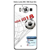 Onozo - Coque Nokia Lumia 950 - 950 Dual Sim design Foot - 2 - Coupe du monde Russie 2018