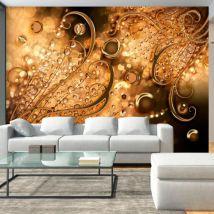Papier peint   Golden Memories   300x210   Fonds et Dessins   Ornements - Décoration des murs