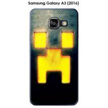 Coque Samsung Galaxy A3 (2016) - A310F design Minecraft - 2 - Etui pour téléphone mobile
