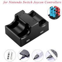 2019 Joy-Con Station de Recharge Stand 4 En 1 pour Nintendo Controleurs Switch Joycon aloha2422 - Autres