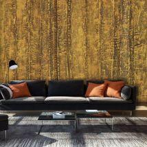 Papier peint | Golden Chamber | 100x70 | Fonds et Dessins - Décoration des murs