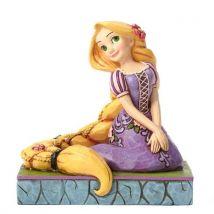 Disney Traditions 4050408 Figurine Raiponce Créative Figurine Multicolore 10 cm - Objet à poser