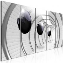 Tableau - Space Tunnel (5 Parts) Narrow .Taille : 225x90 - Décoration murale