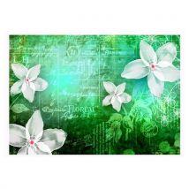 Artgeist - Papier peint - Floral notes III 100x70 - Décoration des murs