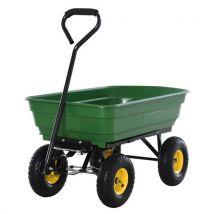 Chariot de jardin a main garden cart truck cuve basculante max. 200 Kg - Outillage de jardin à main