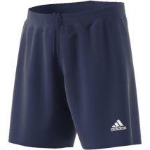 Adidas - Short adidas Parma 16 - 9/10 ans - bleu nuit/blanc - Shorts et bermuda de sport