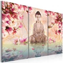 Tableau - Bouddha - méditation .Taille : 120x80 - Décoration murale