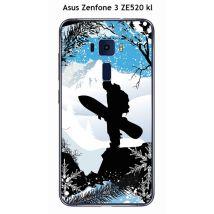 Coque Asus Zenfone 3 ZE520 kL design surf-neige5