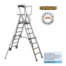 Centaure - Plateforme de travail télescopique 6 - 9 marches - PL SCOP - Machines de construction et d'atelier
