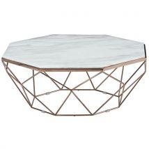 Tsivia - table basse octogonale - Tables basses