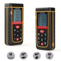 CooCheer Télémètre laser mesurer zone/Distance/Volume 80 m - Outils de mesure électroportatif