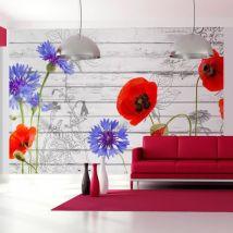Papier peint - Wildflowers - Décoration, image, art | Fleurs | Prairie | - Décoration des murs