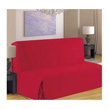 Homemaison - F516-52 - Housse de Clic-Clac - Nouettes dos couvert - Rouge - Textile séjour