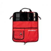 Ahead - SB4 - Sac baguettes pro noir / rouge - fourrure intérieure - Accessoire Percussions et Batteries