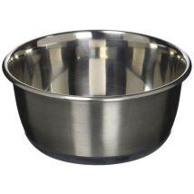 Karlie Ecuelle pour chats en acier inoxydable 950ml, 15cm diamètre, Argent - Nourriture pour chien
