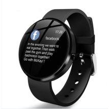 nouvelle montre intelligente IP68 étanche fréquence cardiaque surveillance de la pression artérielle LEMFO Smartwatch Fitness Tracker - Bracelet de mo