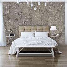 Papier peint - Silver Serenade .Taille : 300x210 - Décoration des murs
