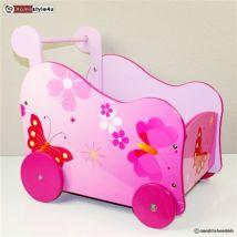 Chariot pour transport de Poupées - Rangement de l'atelier