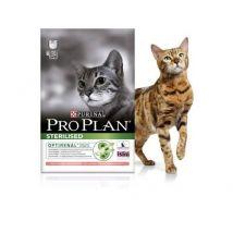 Croquettes pour chats pro plan adulte sterilised dinde sac 1,5 kg - Nourriture et friandises pour chat
