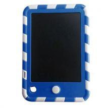 Bloc notes électronique d'écriture de bloc notes de planche à dessin de tablette de 4,5 pouces bleu - Tablette graphique avec écran