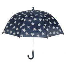 Playshoes parapluie avec étoiles bleu foncé 70 cm - Parapluies