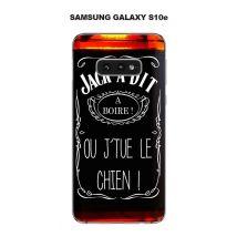 Coque Samsung Galaxy S10e Design Jack À Dit A Boire