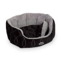 Nobby Panier ovale matelassé pour chien, avec coussin réversible Ceno - Colliers, harnais et laisses pour chien