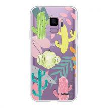 Coque pour Samsung Galaxy S9 360 intégrale transparente Cactus et Compagnie Ecriture Tendance Design [Evetane ] - Etui pour téléphone mobile