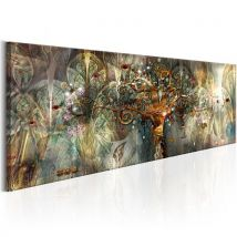 Tableau | Land of Happiness | 120x40 | Abstraction | Modernes - Décoration murale