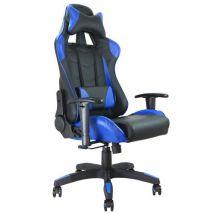 Fauteuil de bureau baquet RACING noir et bleu - Sièges et fauteuils de bureau