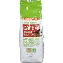 Ethiquable Café Moulu Pérou Equitable & Bio 1 kg Paysans Producteurs - Expresso et cafetière