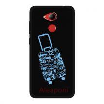 Coque Etui pour Huawei Honor 6C Pro Smartphone Valise de voyage silicone gel - Etui pour téléphone mobile