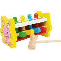 Banc A Marteler «Reconnaissance Des Couleurs» - Autres jouets en bois