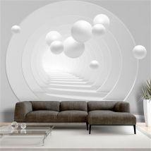 Papier peint - 3D Tunnel - Artgeist - 350x245 - Décoration des murs