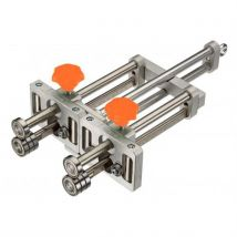 PLIEUSE DOUBLE STANDARD 4 ROULETTES - Outil pour réaliser des relevés sur des toles de petites et grandes longueurs - Machines de construction et d'at