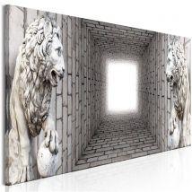 Tableau - Light in the Tunnel (1 Part) Narrow - Artgeist - 135x45 - Décoration murale