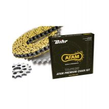 Kit chaine AFAM 520 type MX4 (couronne standard) SUZUKI RM250 - Accessoires de sports motorisés