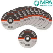 Arebos 50 disques fins à tronconner l'acier inox O 230 mm - Roues et disques abrasifs